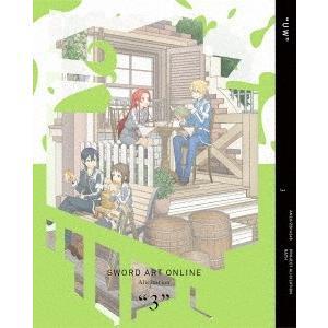 【ダブル連動&オリ特典付】TVアニメ/ソードアート・オンライン アリシゼーション 3<Blu-ray>(完全生産限定版)[Z-7772]20190327|wondergoo