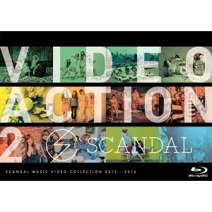 SCANDAL/VIDEO ACTION 2<Blu-ray>20161221|wondergoo