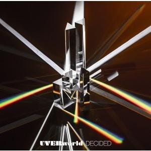 UVERworld/DECIDED<CD>(通常盤)20170712|wondergoo