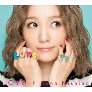 ◎西野カナ/LOVE it<CD+DVD+グッズ>(初回生産限定盤)20171115|wondergoo