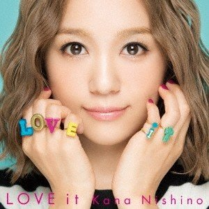 西野カナ/LOVE it<CD>(通常盤初回仕様)20171115|wondergoo