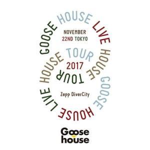 【先着特典付】Goose house/Goose house Live House Tour 2017.11.22 TOKYO<Blu-ray>(初回仕様限定盤)[Z-7251]20180411|wondergoo