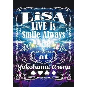 【先着特典付】LiSA/LiVE is Smile Always 〜364+JOKER〜 at YOKOHAMA ARENA<DVD>(通常盤)[Z-8928]20200304|wondergoo