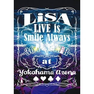 【先着特典付】LiSA/LiVE is Smile Always 〜364+JOKER〜 at YOKOHAMA ARENA<Blu-ray>(通常盤)[Z-8928]20200304|wondergoo