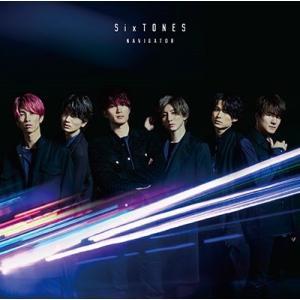 △【先着特典付】SixTONES/NAVIGATOR<CD>(通常盤/初回仕様)[Z-9213]|wondergoo