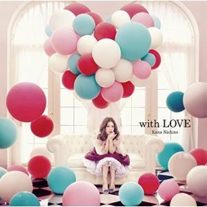 西野カナ/with LOVE<CD>(通常盤初回仕様)20141112 wondergoo