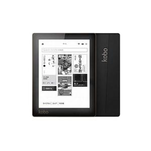 【大特価】kobo Aura(コボ オーラ) ブラック<電子書籍リーダー>[Z-8542]|wondergoo