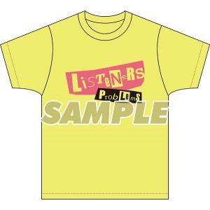 【LISTENERS】オリジナルTシャツ(Tr.7 Problems)<グッズ> wondergoo