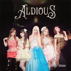 【オリジナル特典付】Aldious/Unlimited Diffusion<CD>(通常盤)[Z-6238]20170510|wondergoo