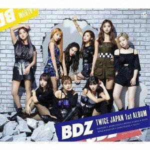 TWICE/BDZ<CD+DVD>(初回限定盤B)20180912 wondergoo