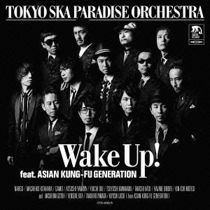 東京スカパラダイスオーケストラ/Wake Up! feat. ASIAN KUNG-FU GENERATION <CD+DVD>(初回限定盤/紙ジャケット仕様)140702|wondergoo