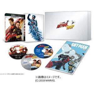 洋画/アントマン&ワスプ 4K UHD MovieNEXプレミアムBOX<4K Ultra HD Blu-ray+3D Blu-ray+Blu-ray>(数量限定版)20190109|wondergoo