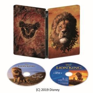 ●ライオン・キング 4K UHD MovieNEX スチールブック<4K Ultra HD Blu-ray+Blu-ray>(数量限定版)20191204|wondergoo