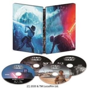 ●スター・ウォーズ/スカイウォーカーの夜明け4K UHD MovieNEX スチールブック<4K Ultra HD Blu-ray+3D Blu-ray+2Blu-ray>(数量限定)20200429|wondergoo