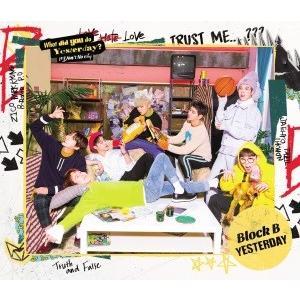 【先着特典付】Block B/YESTERDAY<CD>(初回限定盤Type-B)[Z-6009]20170329