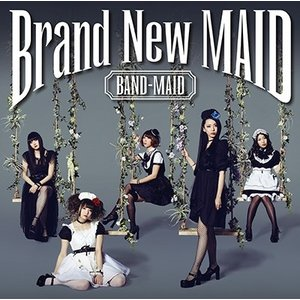 BAND-MAID/Brand New MAID<CD>(Type-B)20160518|wondergoo