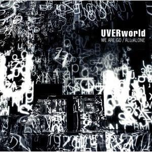 【先着特典付】UVERworld/WE ARE GO/ALL ALONE<CD+DVD>(初回生産限定盤)[Z-5185]20160727|wondergoo