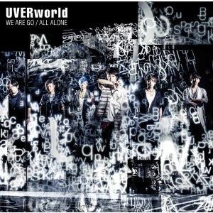 【先着特典付】UVERworld/WE ARE GO/ALL ALONE<CD>(通常盤)[Z-5185]20160727|wondergoo
