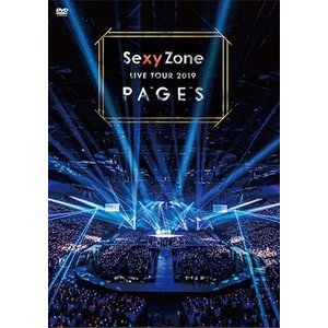 Sexy Zone/Sexy Zone LIVE TOUR 2019 PAGES<DVD>(通常盤)20190828|wondergoo
