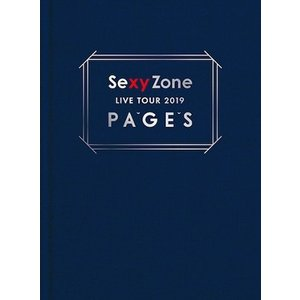 Sexy Zone/Sexy Zone LIVE TOUR 2019 PAGES<Blu-ray>(初回限定盤)20190828|wondergoo