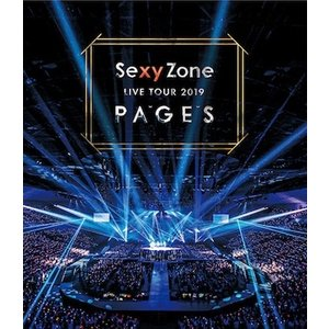 Sexy Zone/Sexy Zone LIVE TOUR 2019 PAGES<Blu-ray>(通常盤)0190828|wondergoo