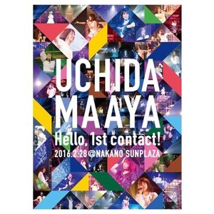 内田真礼/UCHIDA MAAYA 1st LIVE『Hello,1st contact!』<Blu-ray>20160720 wondergoo