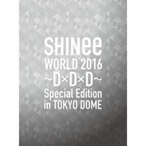【先着特典付】SHINee/SHINee WORLD 2016 〜D×D×D〜 Special Edition in TOKYO<2Blu-ray+ブックレット>(初回限定盤)[Z-5477]20160928|wondergoo