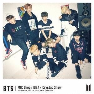 BTS (防弾少年団)/MIC Drop/DNA/Crystal Snow<CD+DVD>(初回限定盤B)20171206|wondergoo