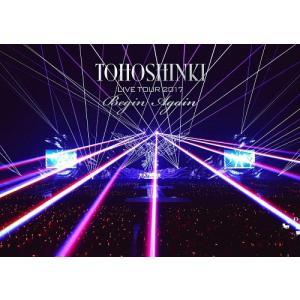 【先着特典付】東方神起/東方神起 LIVE TOUR 2017 〜Begin Again〜<2DVD(スマプラ対応)>(通常盤)[Z-7211]20180328|wondergoo