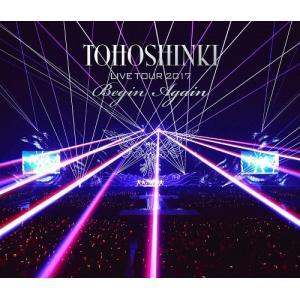 【先着特典付】東方神起/東方神起 LIVE TOUR 2017 〜Begin Again〜<Blu-ray(スマプラ対応)>(通常盤)[Z-7211]20180328|wondergoo