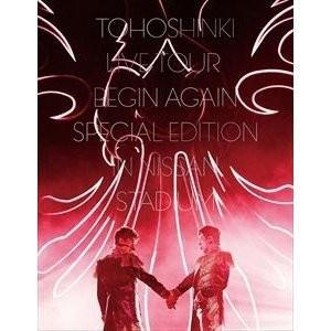 東方神起/東方神起 LIVE TOUR 〜Begin Again〜 Special Edition in NISSAN STADIUM<DVD3枚組(スマプラ対応)>(初回生産限定盤)20181219|wondergoo