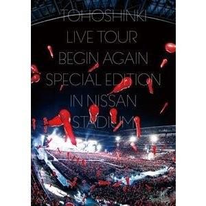 東方神起/東方神起 LIVE TOUR 〜Begin Again〜 Special Edition in NISSAN STADIUM<DVD3枚組(スマプラ対応)>(通常盤)20181219|wondergoo