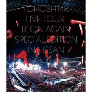 東方神起/東方神起 LIVE TOUR 〜Begin Again〜 Special Edition in NISSAN STADIUM<Blu-ray2枚組(スマプラ対応)>(通常盤)20181219|wondergoo