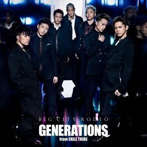 【先着特典付】GENERATIONS from EXILE TRIBE/BIG CITY RODEO<CD>[Z-6756]20171025|wondergoo
