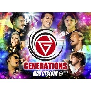 【先着特典付】GENERATIONS from EXILE TRIBE/GENERATIONS LIVE TOUR 2017 MAD CYCLONE<Blu-ray>[Z-7129]20180228|wondergoo