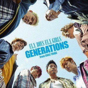 【先着特典付】GENERATIONS from EXILE TRIBE/F.L.Y. BOYS F.L.Y. GIRLS<CD>[Z-7328]20180613|wondergoo