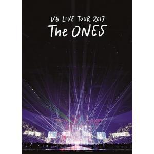 【先着特典付】V6/LIVE TOUR 2017 The ONES<2DVD>(通常盤初回仕様)[Z-7080]20180314|wondergoo