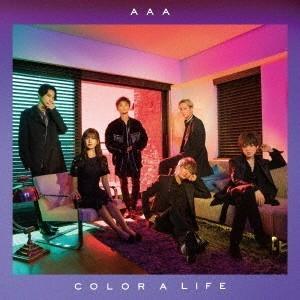 【先着特典付】AAA/COLOR A LIFE<CD+DVD(スマプラ対応)>(通常盤初回仕様)[Z-7652]20180829|wondergoo