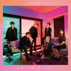 【先着特典付】AAA/COLOR A LIFE<CD(スマプラ対応)>(通常盤初回仕様)[Z-7652]20180829|wondergoo