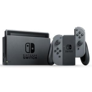 【中古】【本体箱なし、画面傷あり】ニンテンドー スイッチ Nintendo Switch Joy−Con L/Rグレー【4902370535709】|wondergoo