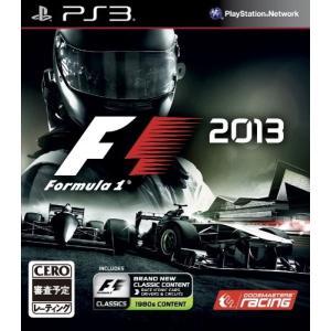 【中古】【PS3】F1 2013【4562271970476】【レース】|wondergoo