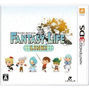 【中古】afb【ニンテンドー3DS】ファンタジーライフ LINK!【4571237660542】【ロールプレイング】