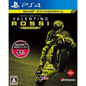 【中古】【PS4】バレンティーノ・ロッシ・ザ・ゲーム【4571331332239】【レース】|wondergoo