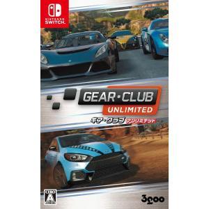 【中古】【Switch】GEAR・CLUB Unlimited(ギアクラブ アンリミテッド)【4589857090014】【レース】|wondergoo