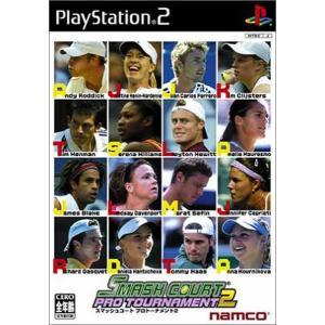 【中古】【PS2】スマッシュコートプロトーナメント2【4907892015579】【スポーツ】|wondergoo