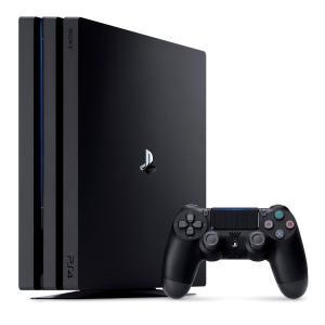 【中古】【本体箱説有り】プレイステーション4 PlayStation4 PS4Pro本体 ジェット・ブラック 1TB(CUH−7000BB01)【4948872414241】|wondergoo