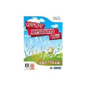 【中古】【Wii】カラオケJOYSOUND(ソフト単品)【4988607500474】【実用】 wondergoo