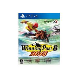 【中古】【PS4】Winning Post 8 2018【4988615104312】【シミュレーション】 wondergoo