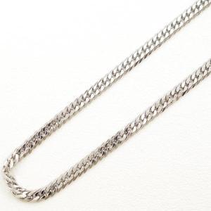 ネックレス PT850 プラチナ 約50cm 喜平 キヘイ 6面 ダブル 総重量約10g|wonderprice