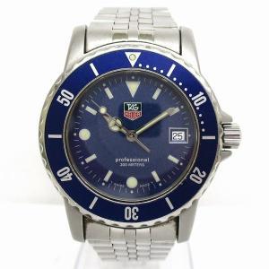 6f2c5a3774 タグホイヤー プロフェッショナル 200m WD1214 クォーツ 時計 腕時計 メンズ 【中古】【あすつく】